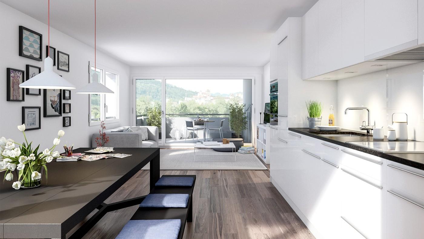 3 zimmer wohnung in aarburg mieten flatfox for Wohnung mieten in