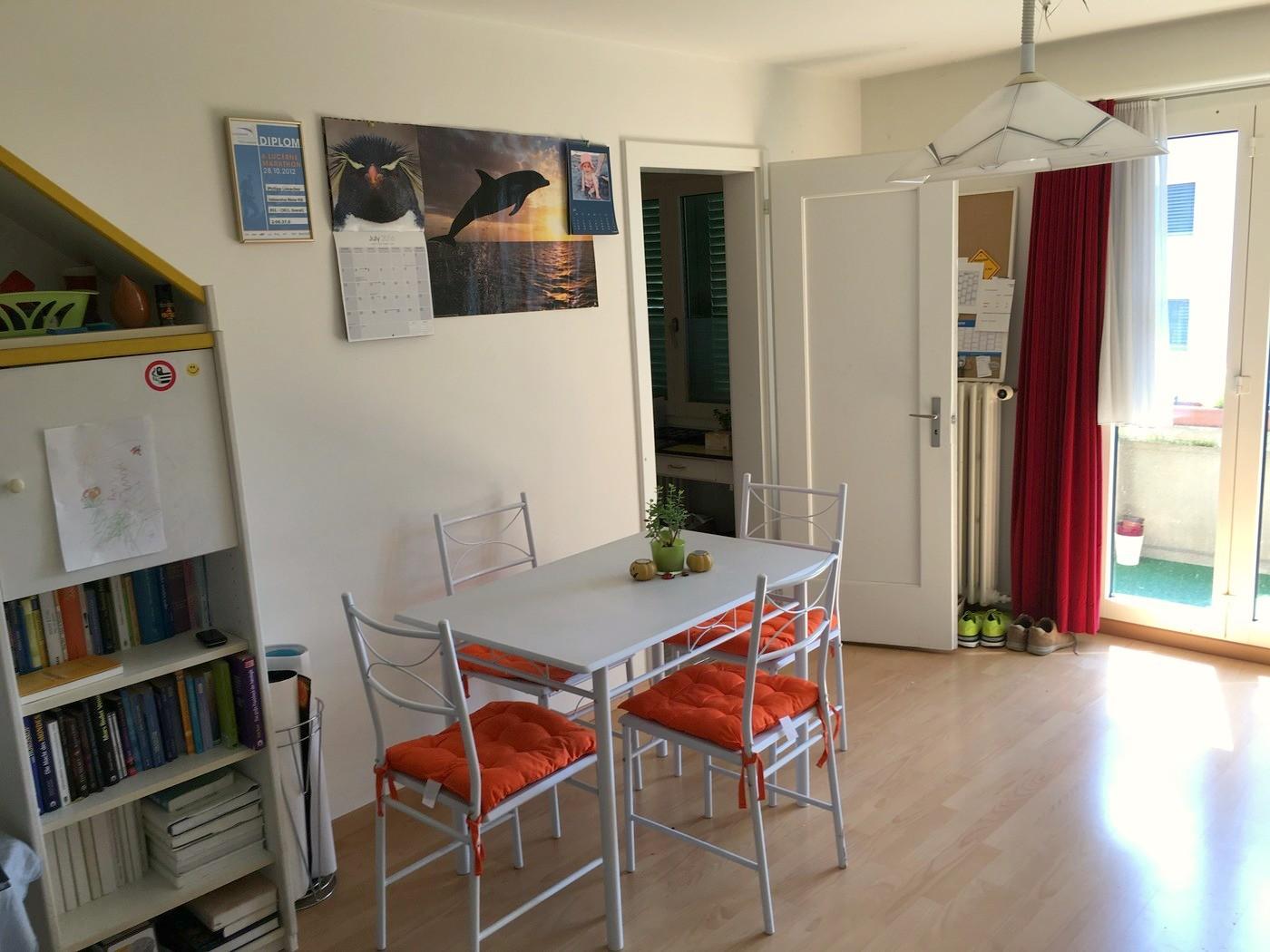 1 zimmer wohnung in kriens mieten flatfox. Black Bedroom Furniture Sets. Home Design Ideas