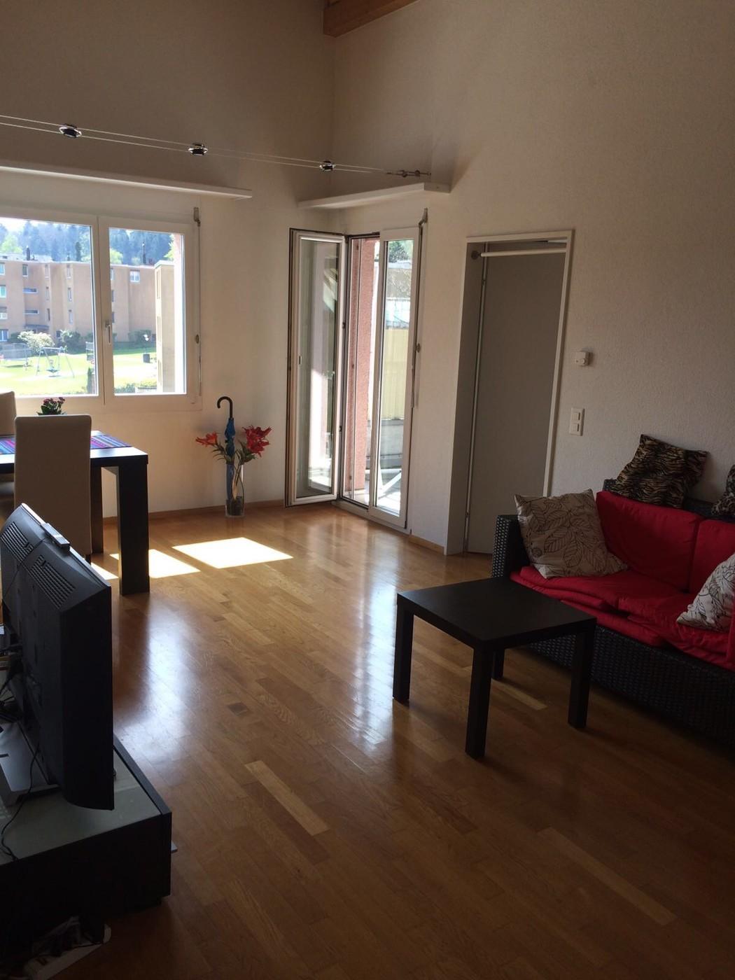 2 zimmer wohnung in r schlikon mieten flatfox. Black Bedroom Furniture Sets. Home Design Ideas